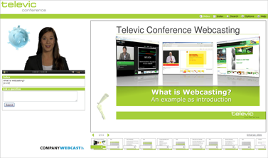 Log Company Webcast, specialised in live webcast