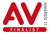 Logo AV Awards Finalist 2011